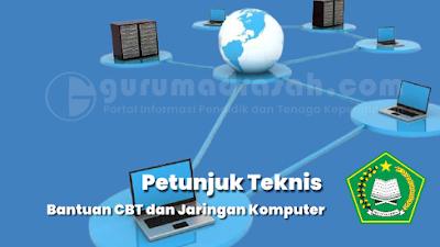 Petunjuk Teknis Bantuan Server dan Jaringan Komputer CBT MTs dan MA Tahun 2021