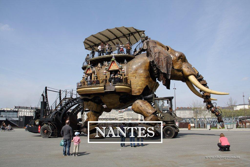 Nantes y su elefante