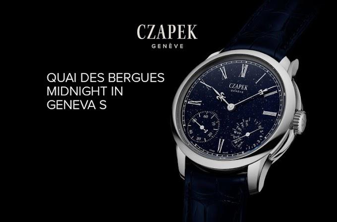 CZAPEK - Quai des Bergues Midnight in Geneva S