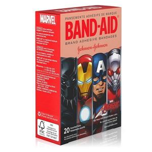 Băng Dán Cá Nhân Hoạt Hình Cho Bé Band Aid Marvel Avengers Hàng Mỹ xách tay
