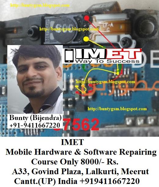 Samsung S7562 Speaker & Ringer Problem Solution Jumper Ways - IMET