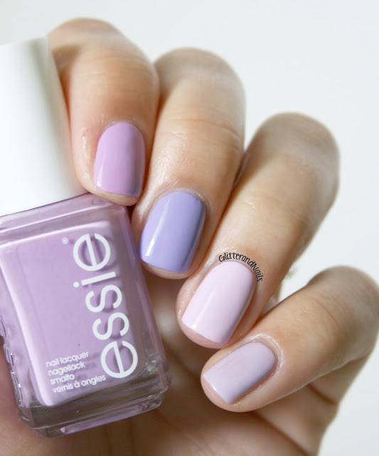 Glitter and Nails: Purple Monochrome + tuto