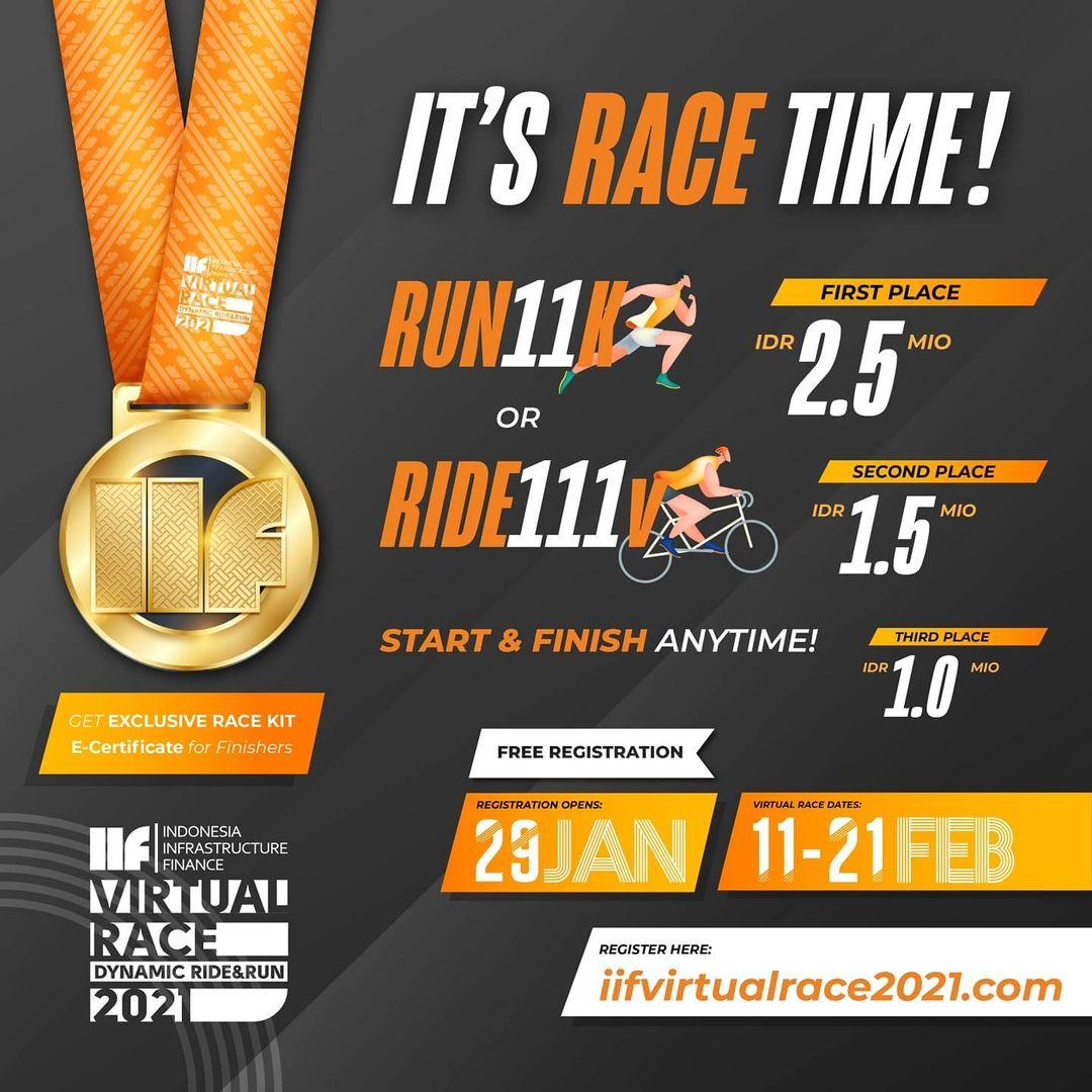 IIF Virtual Race - Dynamic Ride & Run • 2021