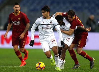 مشاهدة مباراة ميلان وروما بث مباشر اليوم 27-10-2019 في الدوري الايطالي