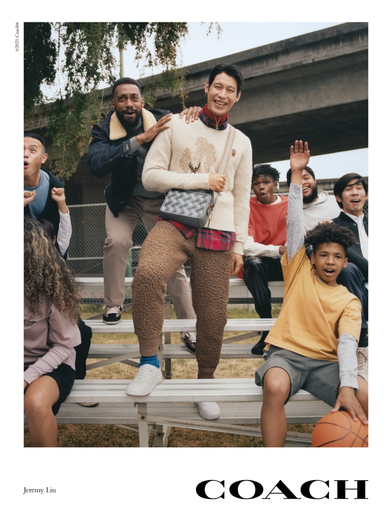 Coach launches fall 2021 campaign with Jeremy Lin