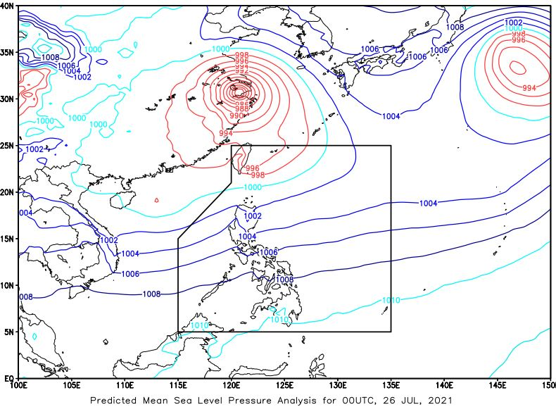 'Habagat' PAGASA weather update July 26, 2021