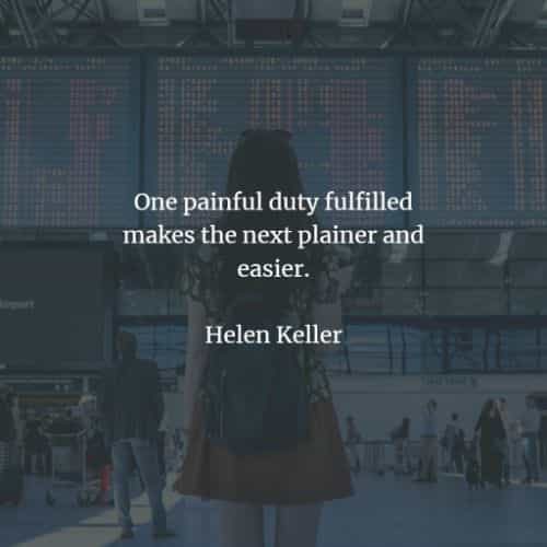 Famous quotes and sayings by Helen Keller