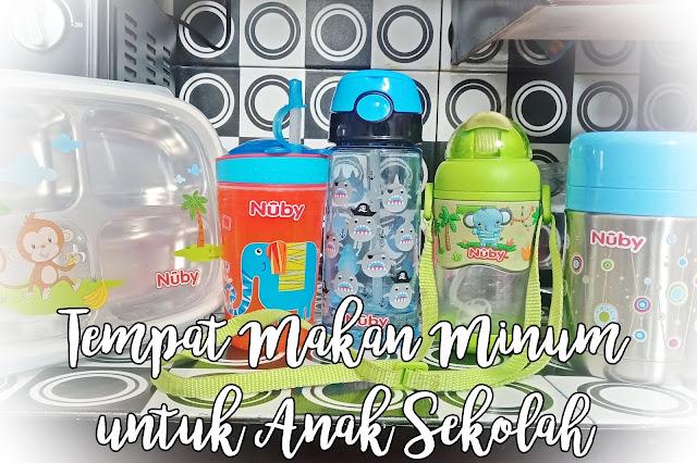 Tempat Bekal Makan dan Botol Minum Anak Sekolah