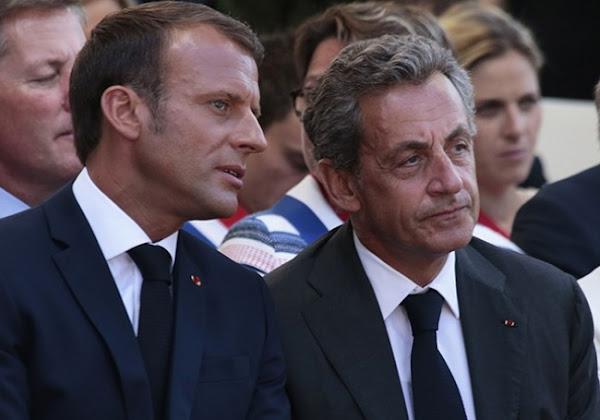 """Sarkozy sur Macron : """"Je lui donne des conseils, mais il n'écoute pas"""""""