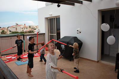 star wars theme party
