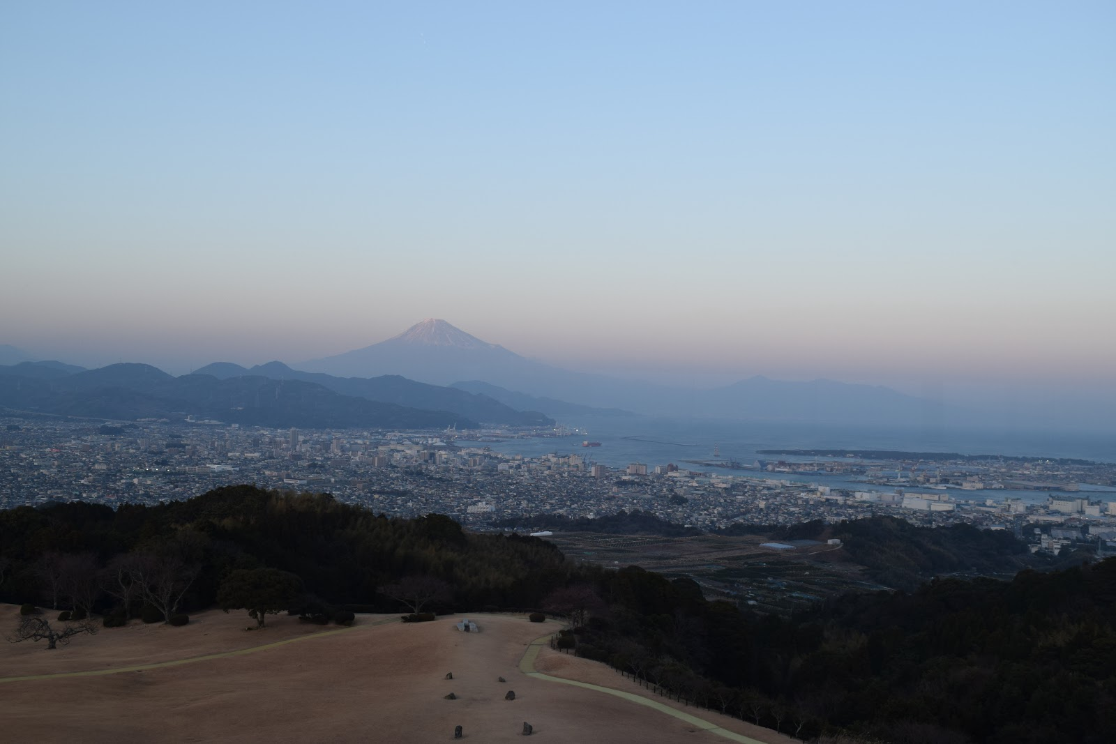 Mt Fuji as seen from Nihon Daira