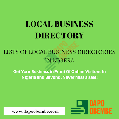 Local Business Directory: List Of Local Business Directories In Nigeria