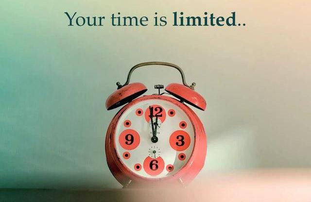 waktu sangat berharga