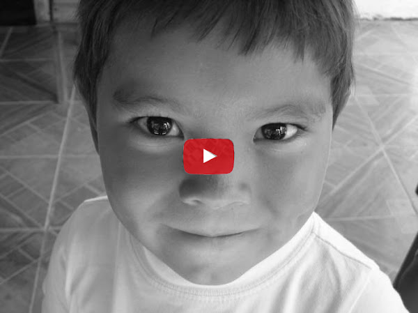 Nicolás Maburro cuando era chico en Colombia