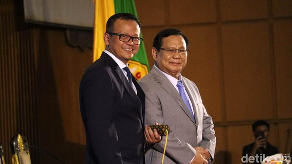 Begini Reaksi Prabowo Subianto,Ketika Edhy Prabowo Ditangkap KPK