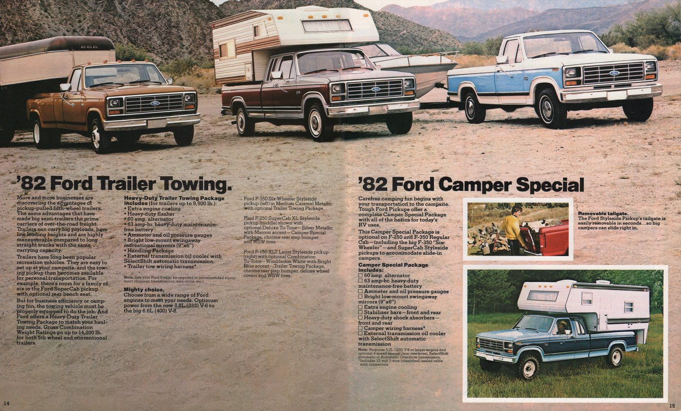 1982 Ford F150 Pick Up Xlt 50 Truck Sales Brochure 1965 Wiring Harness Http Stuurmanclassiccarscom Collectie 2245