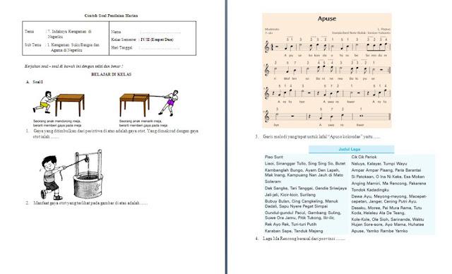 Soal Harian Kelas 4 SD/MI: Tema 7