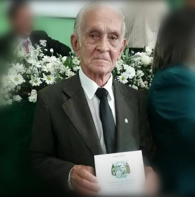 Morre o ex-vereador de Campo Maior Raimundo Mamede
