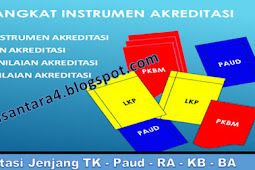 Akreditasi Jenjang TK - Paud - RA - KB - BA