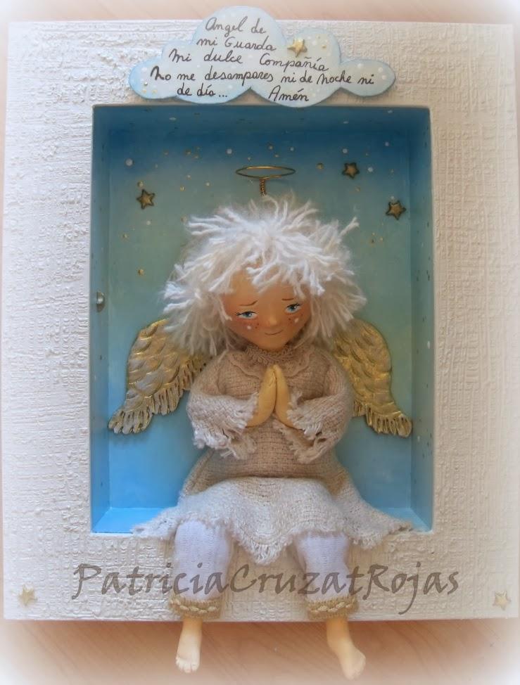 Patricia Cruzat Artesania y Color: Ángel de la Guarda...