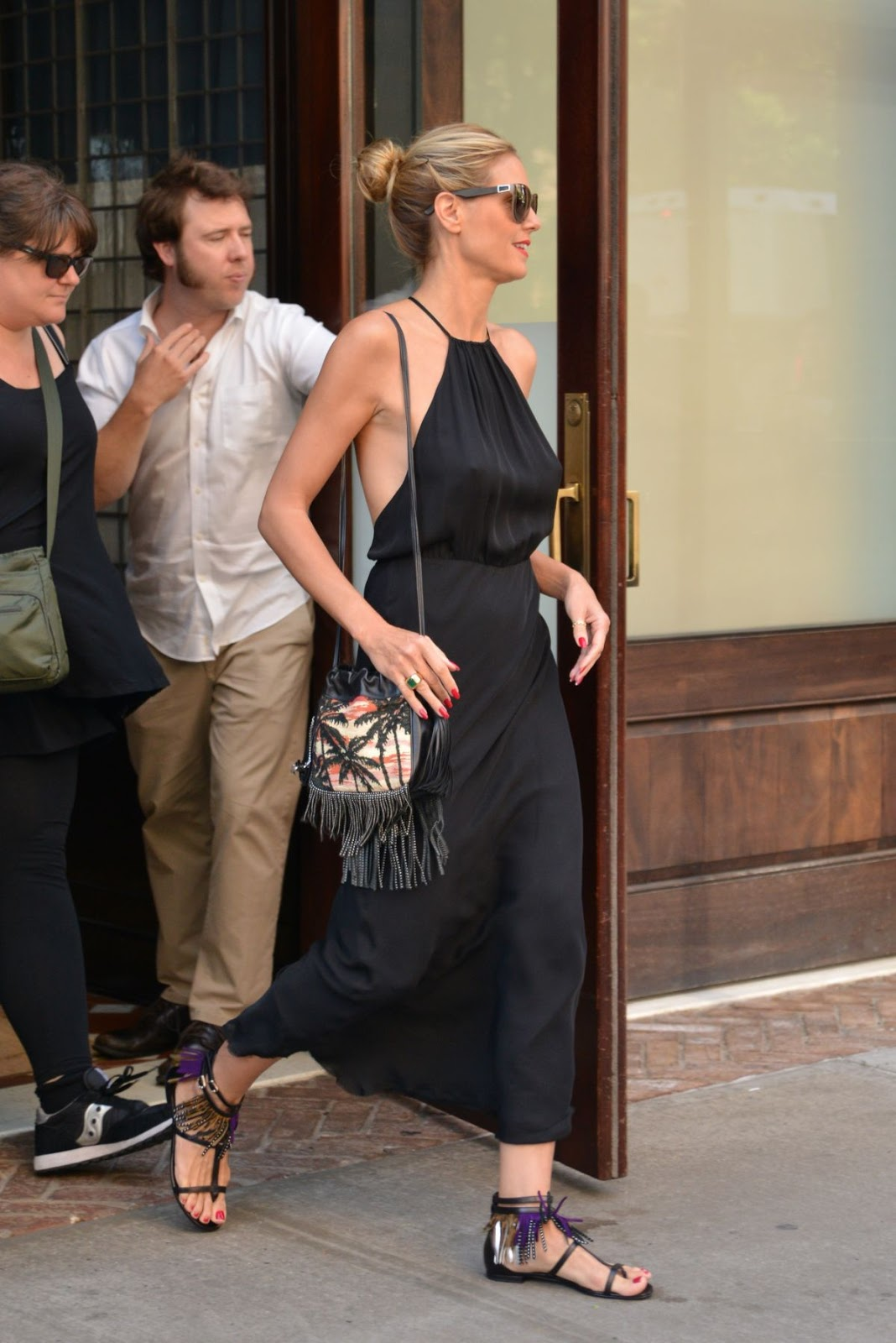 'Littlest Pet Shop' actress Heidi Klum out in Tribeca, NYC