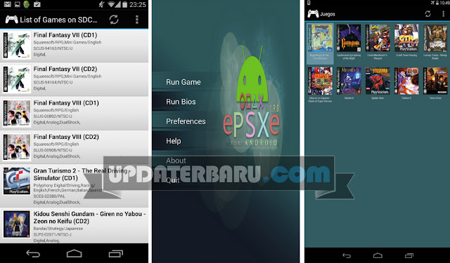 download Emulator PS1/PSX Terbaru ePSXe For Android APK v2.0.6 Untuk Android