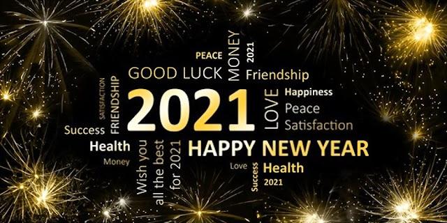 Gelukkig nieuwjaar 2021 Afbeeldingen gratis te download
