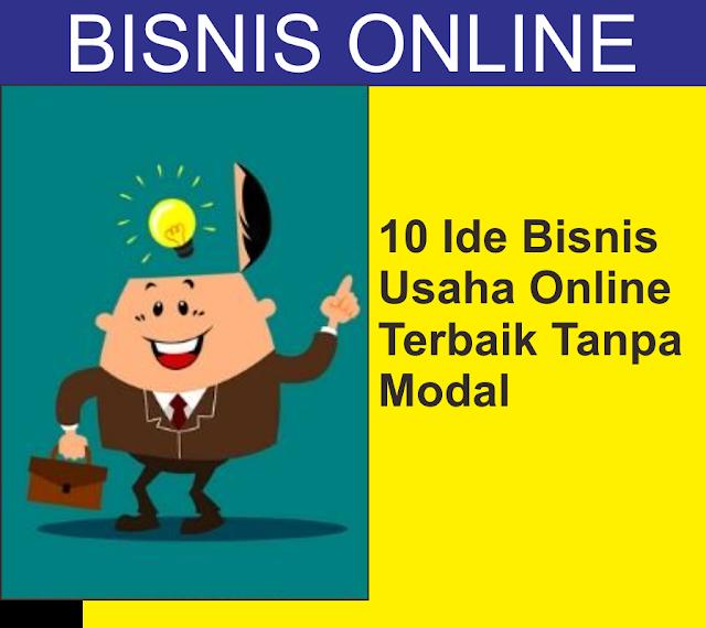 10 Ide Bisnis Usaha Online Work From Home Terbaik Tanpa ...