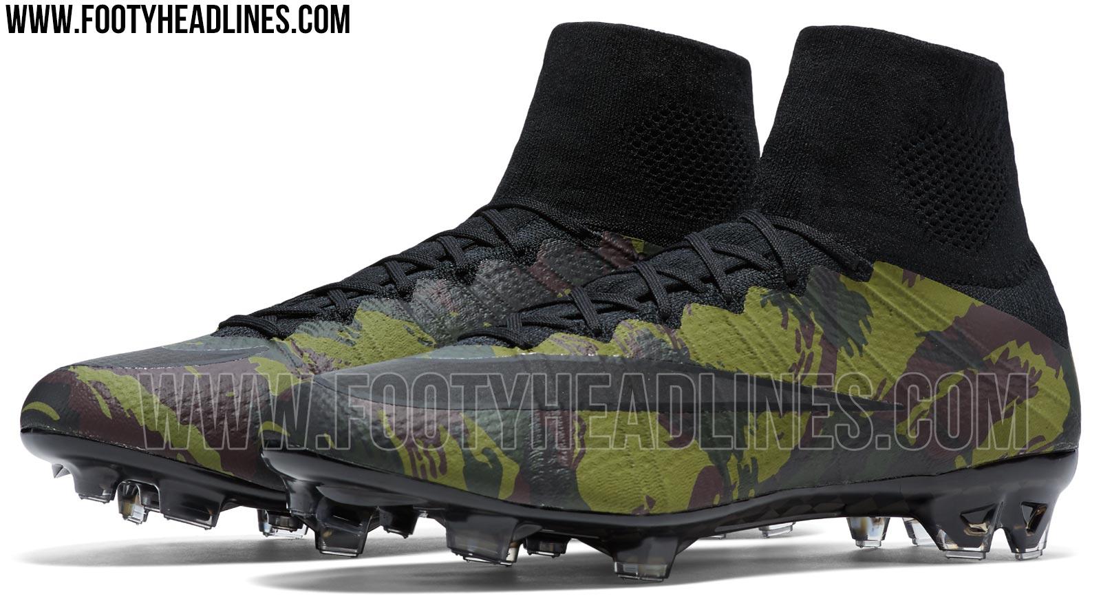 fa1eeeec09c10 The new Nike Mercurial Superfly Camo football boots introduce a bold  stealth look for the Nike Mercurial, set to be available to buy from  tomorrow, April 7, ...