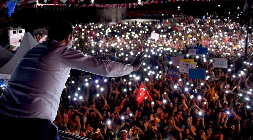CHP İstanbul Büyükşehir Belediye Başkan Adayı Ekrem İmamoğlu Şile'de