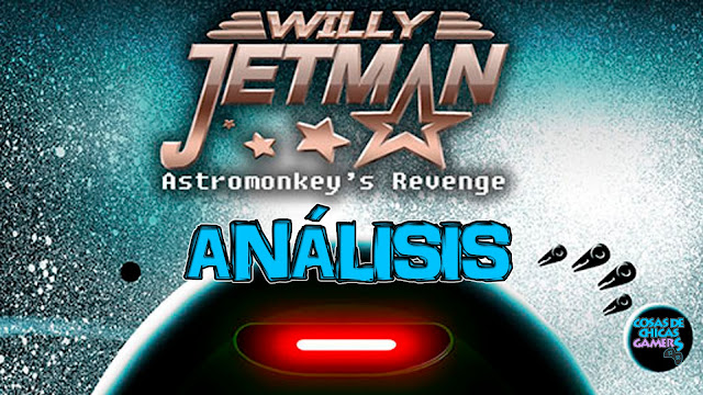 Análisis Willy Jetman astromonkey Revenge para Nintendo Switch