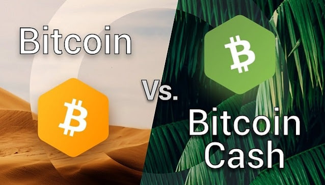 difference between bitcoin and bitcoin cash btc versus bch differences
