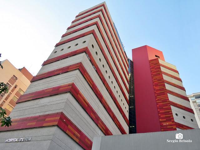 Perspectiva inferior das fachadas do Complexo do Hospital do Rim - Vila Clementino - São Paulo