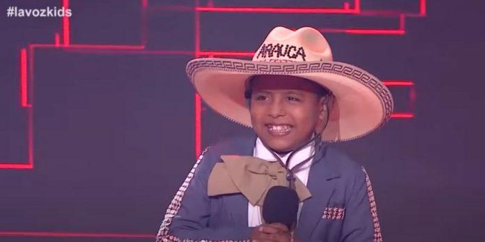 Jackson, el niño venezolano que conmovió a Colombia en La voz kids