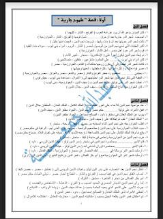 مراجعة لغة عربية للصف الثالث الإعدادي الترم الثاني 300 سؤال اختيارات للاستاذ عبدالله جمعه