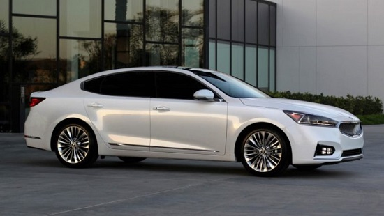 2017 Kia Cadenza Exterior Review