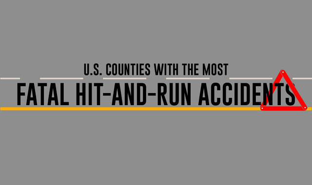 U.S. Counties With the Most Fatal Hit-and-Run Accidents