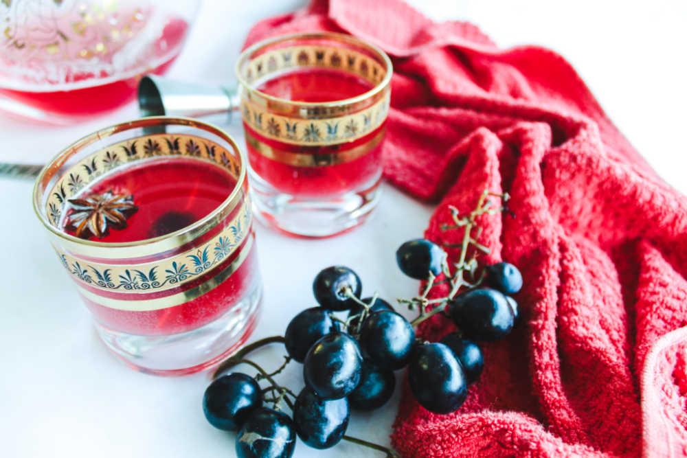 sour cherry mocktail recipe