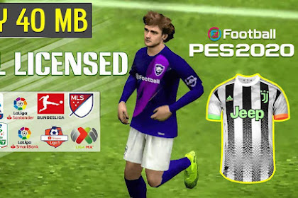 Patch PES 2020 Mobile V4.0.2 eFootbal By TRIZR PATCH