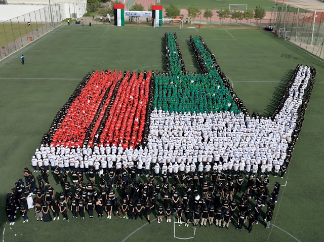 New Guinness World Record set by GEMS Education students as UAE National Day tribute