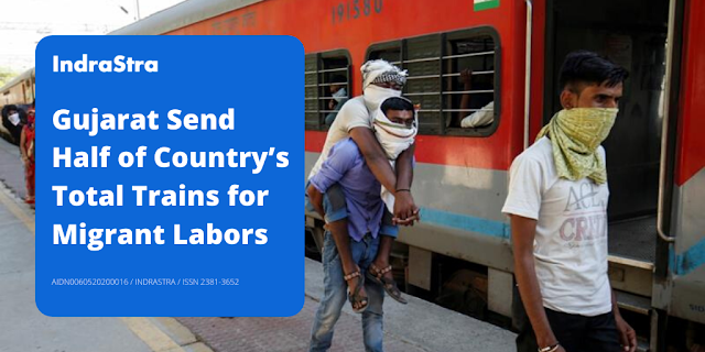 Gujarat Send Half of Country's Total Trains for Migrant Labors