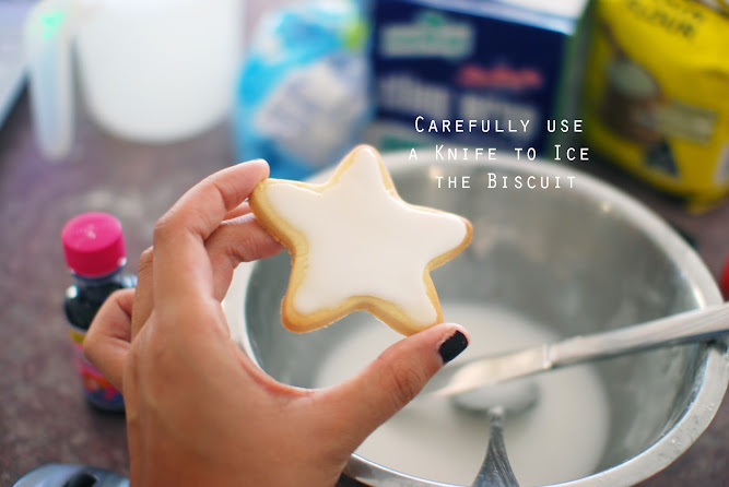 Christmas Cooking Recipe Dessert Star Biscuits Cookies