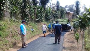 Desa Kabandungan Realisasi kan BanKeu BP Untuk Jalan Lingkungan
