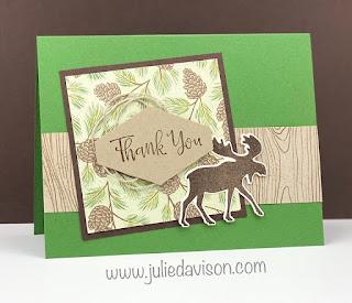 World Cardmaking Day: Free Mini Stamp-a-Stack Online Class ~ Stampin' Up! Designer Paper Sale ~ Merry Moose ~ www.juliedavison.com #stampinup #wcmd2020 #worldcardsendingweek2020 #SU2020WCMD