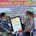 DPRD Kalsel Beri Penghargaan Kepada Polda Kalsel Atas Prestasi Pengungkapan Narkoba 34 Kg