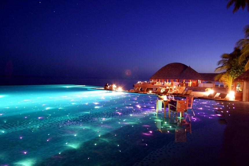 14. Huvafen Fushi, Maldives