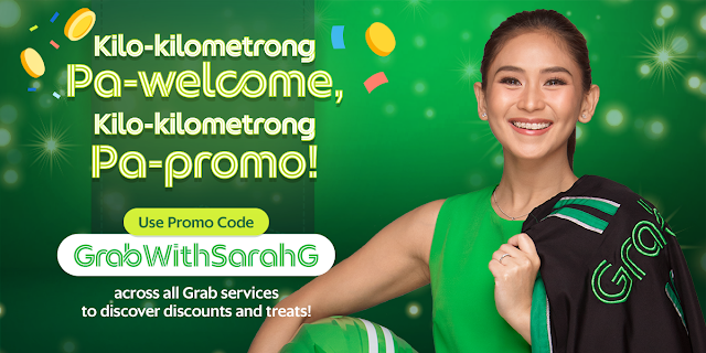 Grab, Sarah Geronimo team up to provide everyday value to more Filipinos Celebrate Her Reveal with Grab's Kilo-Kilometrong Pa-Promo!