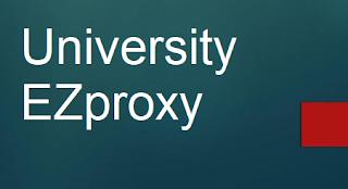 University ezproxy