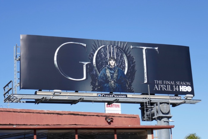 Game of Thrones final season 8 Bran Stark billboard
