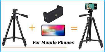 الترايبود Tripod الهواتف المحمولة Monile phones